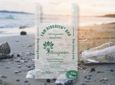 Swith to biogreen biodegradable products