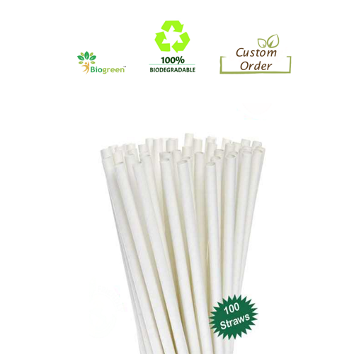 Biodegradable and Compostable straws 5mm