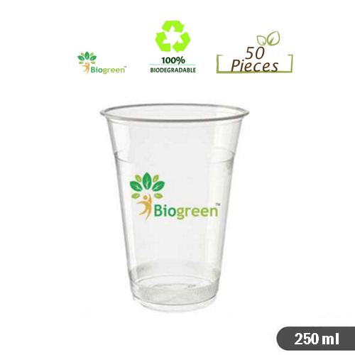 Biodegradable and Compostable cups 250ml