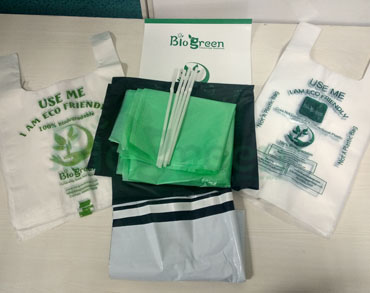 Biogreen Biodegradable and Compostable Samples Full Kit